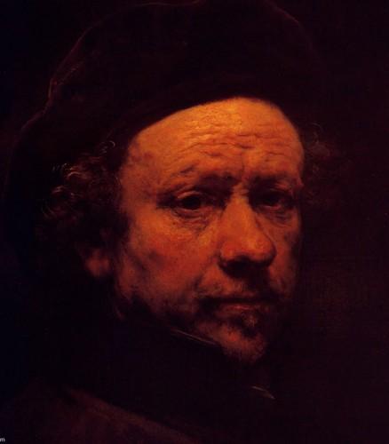 Autoportrait-Rembrandt