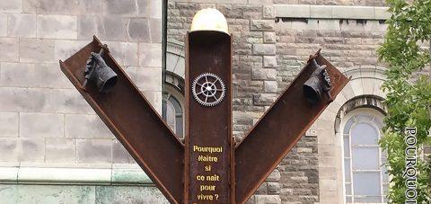 La vie de Pourquoi naître? malgré le 375e de Montréal.